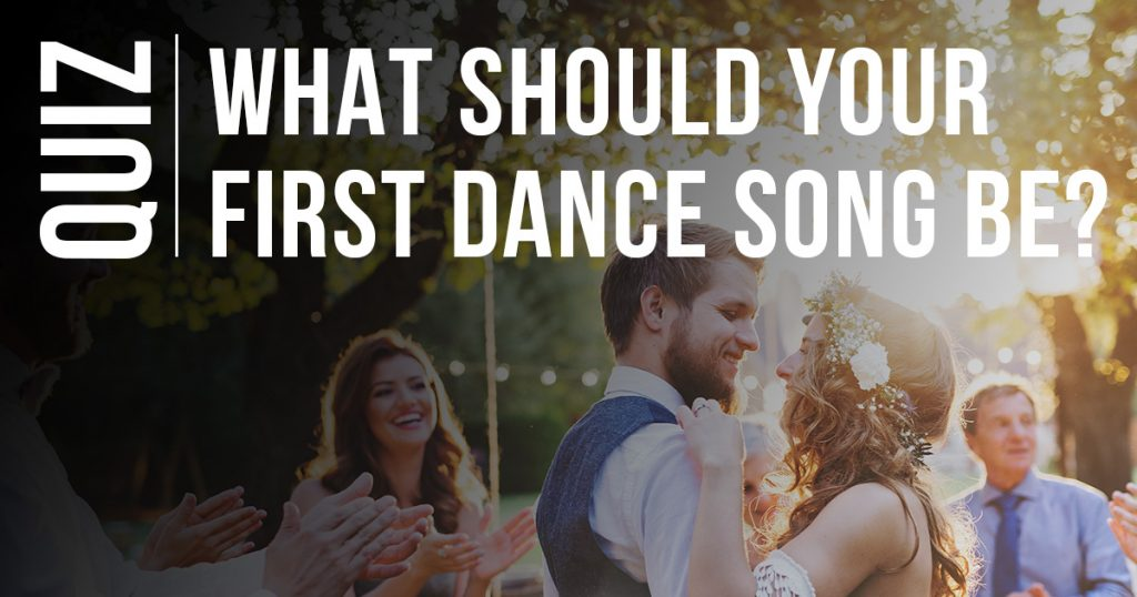 What should your wedding dance be quiz